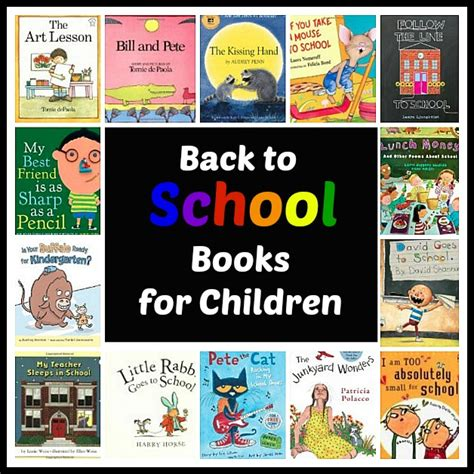 back to school picture books introducing the discover and explore linky back to