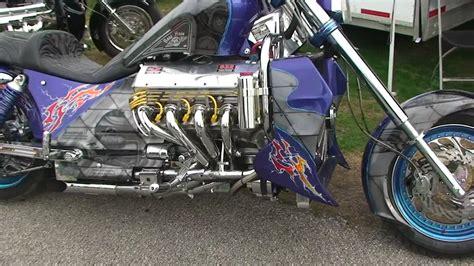 Boss Hoss Motorrad Modelle by Custom Boss Hoss 1100 Hp Chevy Powered Motorcycle Youtube