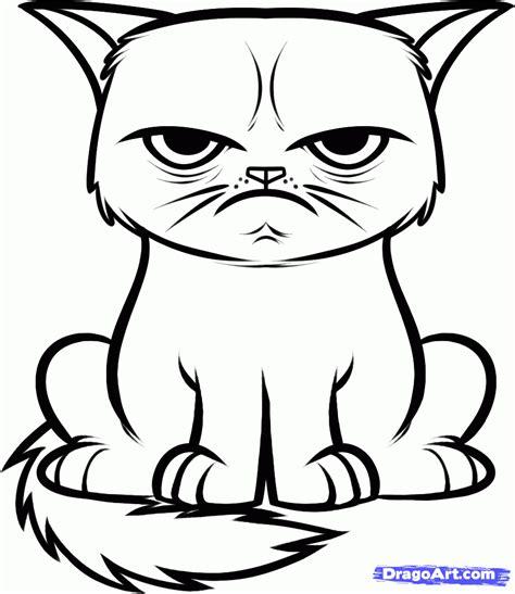 draw  grumpy cat tard  grumpy cat step  step