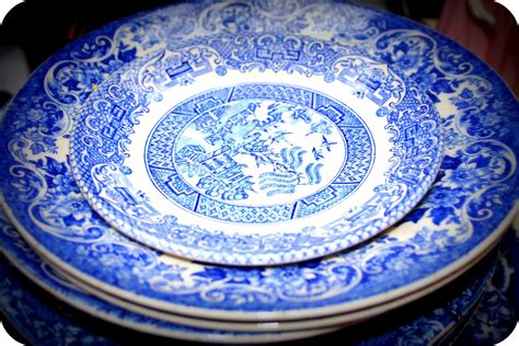 blue pattern china fancy vintage vintage blue china wales