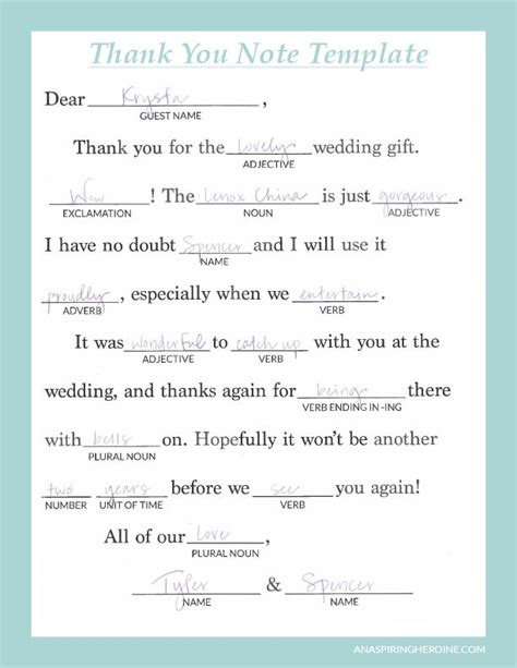 writing personalized wedding   notes weddings
