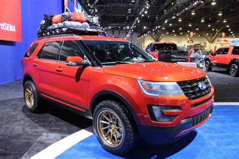 2016 ford explorer lifted sema 2015 truckin in the central photo image gallery
