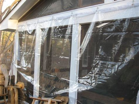 clear vinyl plastic winter curtains best 25 porch enclosures ideas on pinterest porch