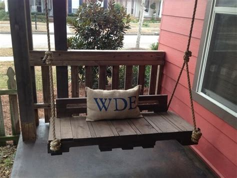 pallet swing plans 33 pallet swings chair bed and bench seating plans