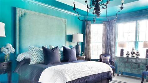 turquoise white stripe bedroom interior design ideas pretty combo of turquoise and black in 15 bedroom