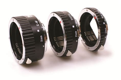 Extention Canon phottix 3 ring auto focus af macro extension for canon