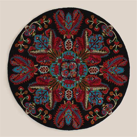 5 medallion tufted rug world market
