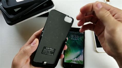 iphone  battery case mah fits iphone