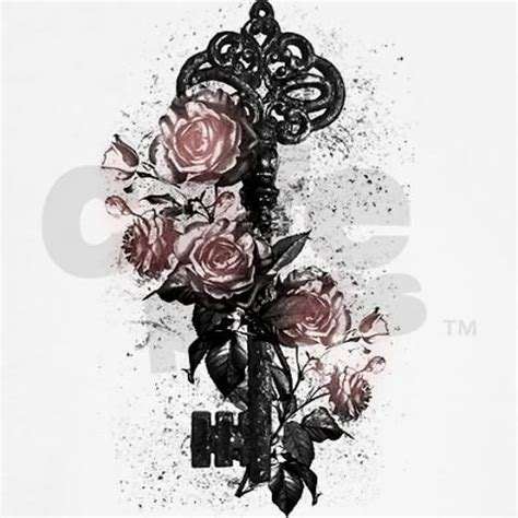 rose and key tattoo meaning key and roses s plus size scoop neck t shirt