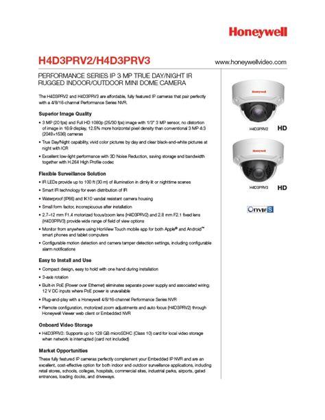 Kamera Cctv Honeywell H4d3prv2 cctv perth cctv western australia security