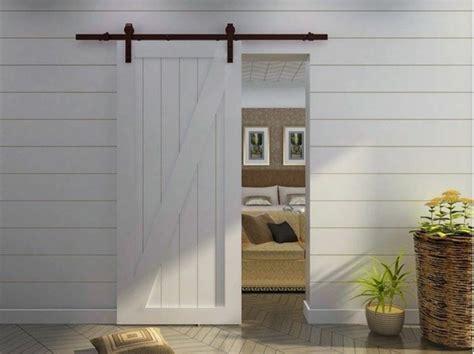 Puertas Corredizas De Madera Precios #9: Porte-coulissante-bois-couleur-blanc.jpg