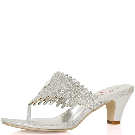 kitten heel toe post sandals womens shoes mules toe post kitten heels low