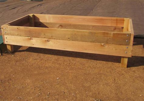 elevated garden beds on legs plans raised garden bed plans on legs pdf woodworking