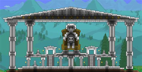 Fireplace Terraria by Weekly Building Contest Thread Fireplace Terraria