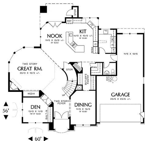 great room floor plans two story deck on pinterest second story deck two level