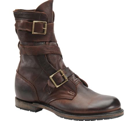 mens vintage shoe company isaac tanker boot free