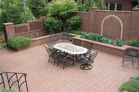 bricks for backyard brick patio ideas landscaping network