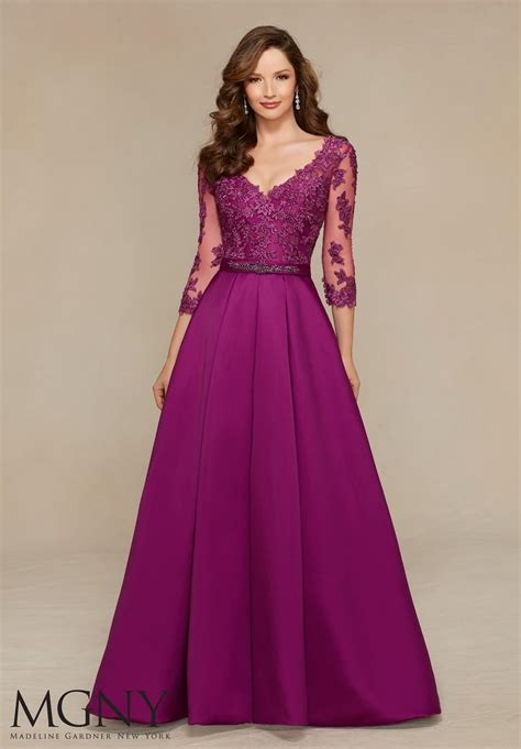 Evening Gown satin evening dress style 71336 morilee