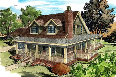 farm house plan classic country farmhouse house plan 12954kn architectural designs house plans