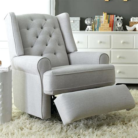 grey glider recliner for nursery baby animal nursery zoey grey nursery swivel glider
