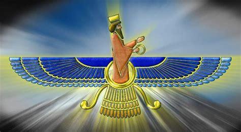 Calendrier Zoroastrien Faravahar Emblem Faravahar Is An Ancient