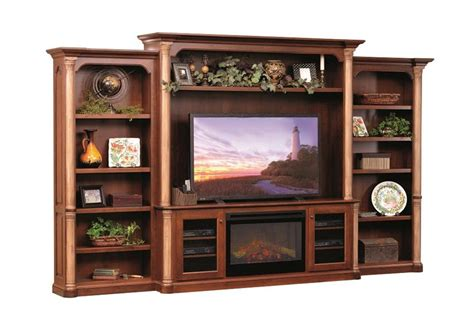 Jefferson Premier Entertainment Center with Fireplace from