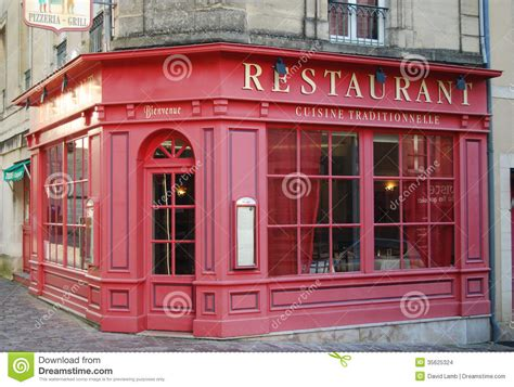 2d Kitchen Design french restaurant stock images image 35625324