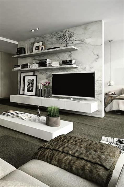 tv decor how to use modern tv wall units in living room wall decor