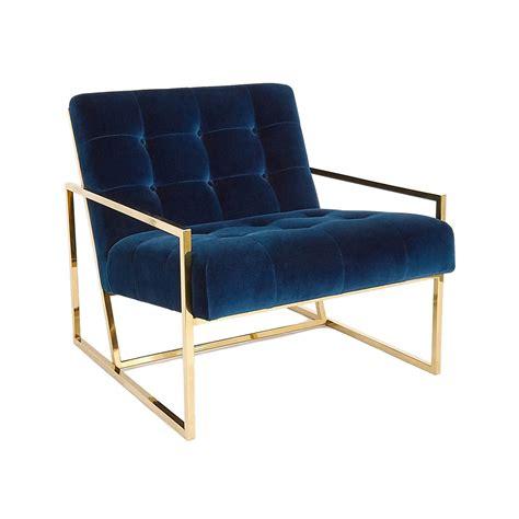 Velvet Chairs Navy Velvet Chair Black Rooster Decor