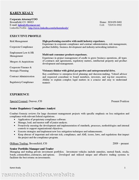 Sle Resume Of Business Process Analyst 28 Compliance Analyst Resume Sle Compliance Resume