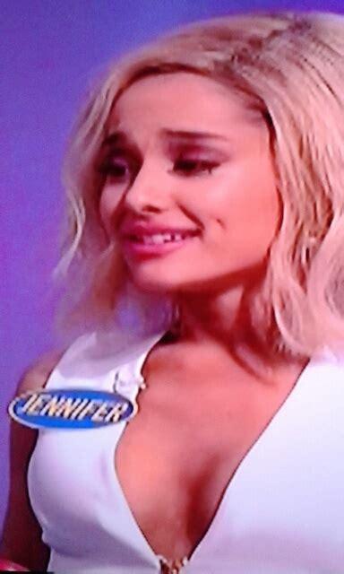 family nip slips ariana grande celebrity wardrobe malfunction snl nip ple