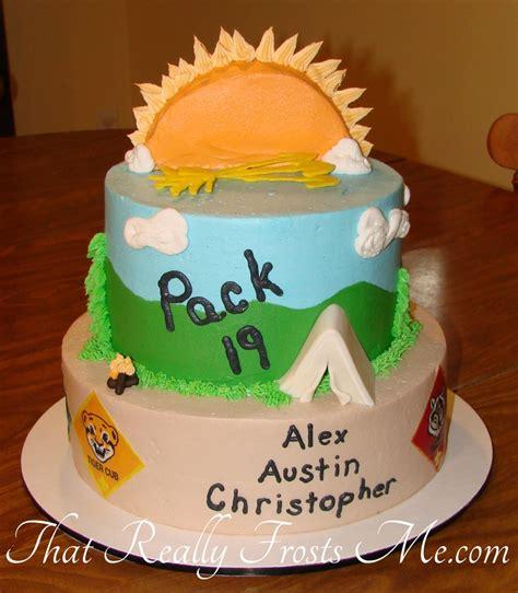 cub scout cake 407f cake decorating community cakes