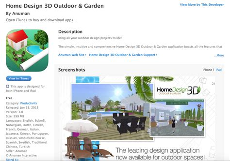 home design 3d outdoor app free quot home design 3d outdoor garden quot app now available turf