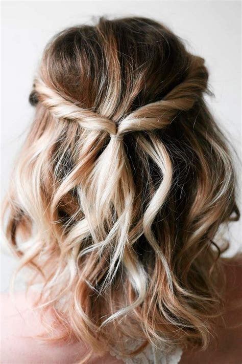 Easy Bridal Hairstyles For Hair by 10 Wedding Hairstyles For Medium Length Hair