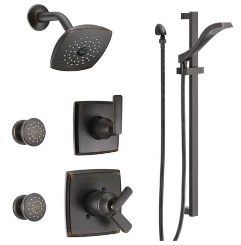 Kitchen Faucets Bronze Finish by Faucet Com Dss Ashlyn 1703 Rb In Venetian Bronze By Delta