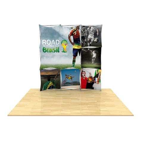 floor display 3d 3x3 3d snap floor display layout 5 impact displays