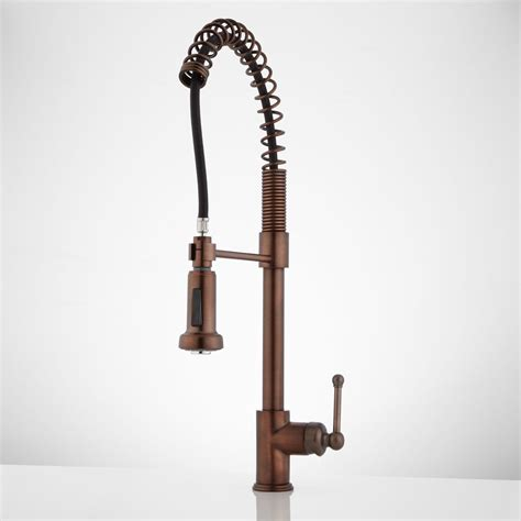 copper kitchen faucets moen copper finish kitchen faucet