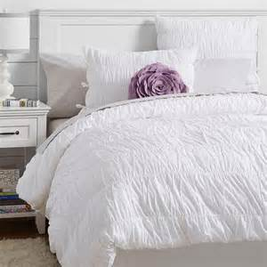 white duvet covers ruched white duvet cover and sham