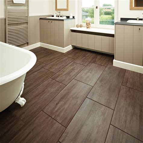 wood flooring in bathroom 30 amazing ideas and pictures of the best vinyl tile for