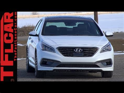 Hyundai Sonata 0 60 by 2015 Hyundai Sonata Sport 2 0l Turbo 0 60 Mph Test Review