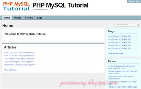 tutorial php y html 10 website học php trực tuyến passionery