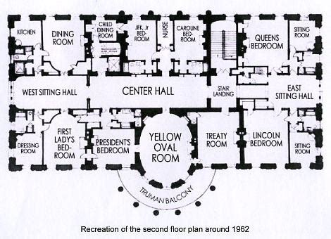 Floor Plan Of The White House by Kennedy White House Floor Plan Camelot Days Jackie S