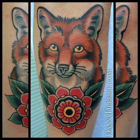 traditional fox tattoo american traditional fox www pixshark
