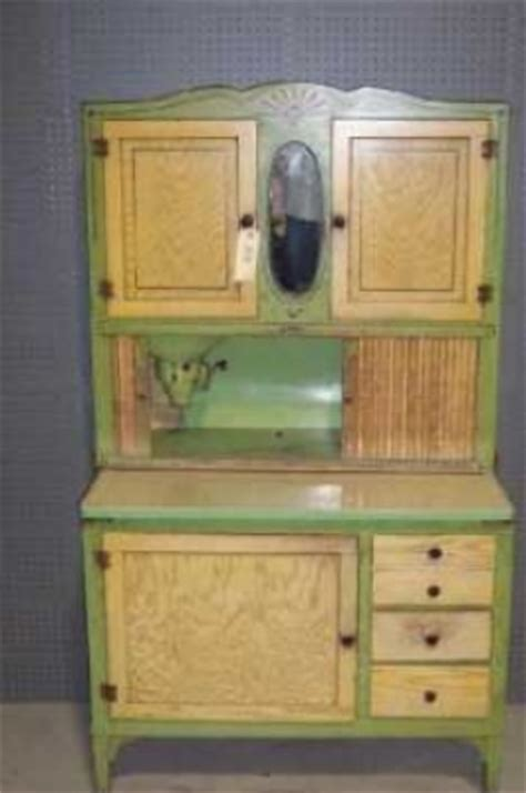 Painted Hoosier Cabinet by Painted Hoosier Style Cabinet 385953