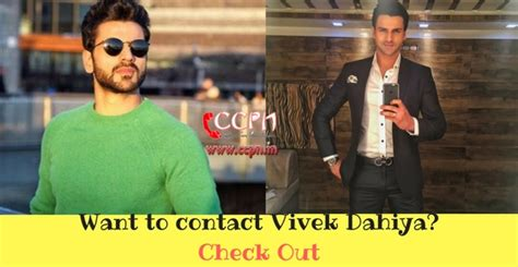 actor vivek office address vivek dahiya contact address phone number email id