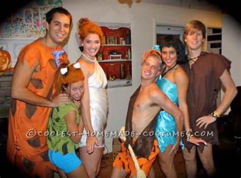 simple flintstones group costume costumes group