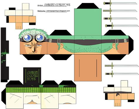 One Papercraft - one master paper zoro
