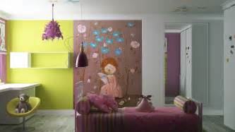 Girls Wall Mural Cute Girls Rooms