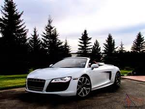 audi r8 spyder convertible 2 door