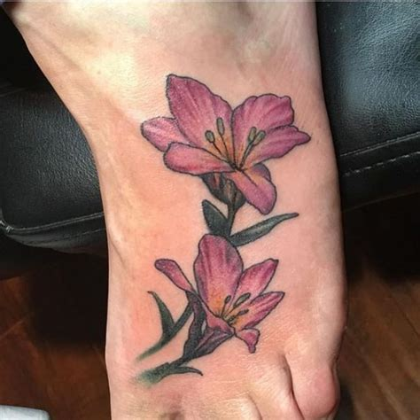 japanese lily tattoo designs 80 flower designs meaning tenderness